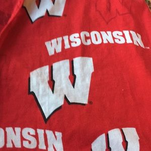 University of Wisconsin PJ pants Red size large
